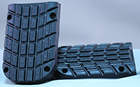 Rubber Tread for Wide Knight Design Foot Pegs